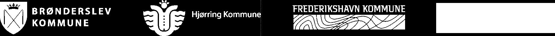 Logo af deltagende kommuner i PLF Nord 2.0